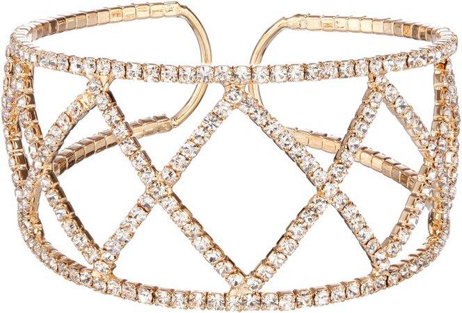 Crystal Crystal Cuff