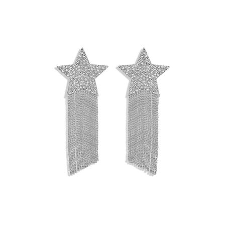 JESSICABUURMAN – TYSON Star Fringed Earrings - Pair