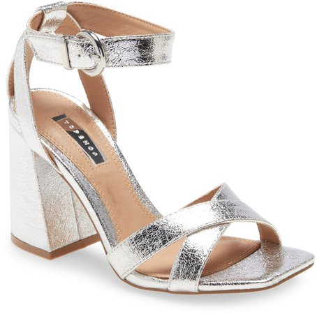 Sacha Ankle Strap Block Heel Sandal