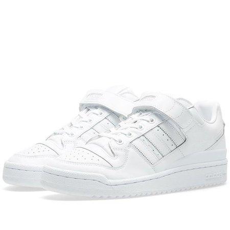 Adidas Forum Lo Refined White & Core Black | END.