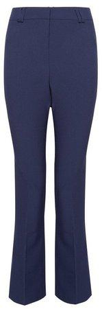 Navy Regular Bootcut Trousers