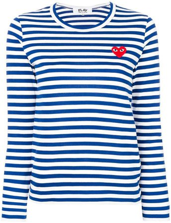 striped longlseeved T-shirt