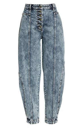 Ulla Johnson Brodie Taper Ankle Jeans | Nordstrom