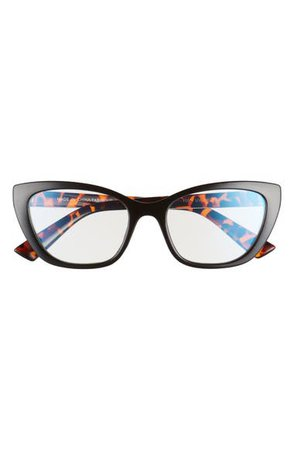 BP. 52mm Cat Eye Blue Light Blocking Glasses | Nordstrom