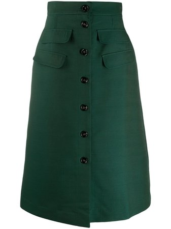 La Doublej Flared Midi Skirt - Farfetch