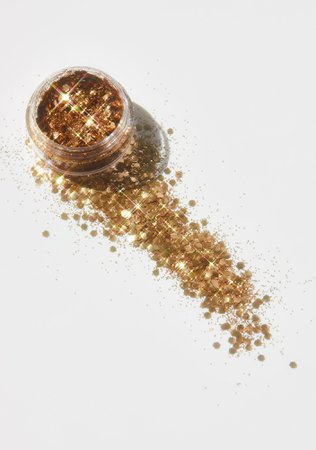 Lunautics Capri Rose Gold Eco Glitter | Dolls Kill