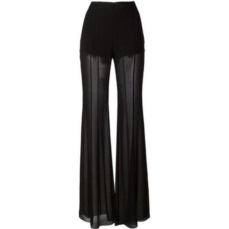 Black Sheer Dress Pants