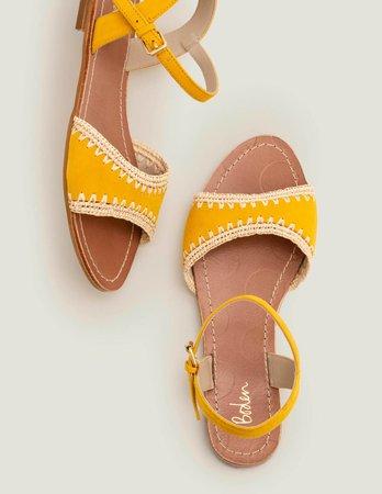 Layla Sandals - Tuscan Sun | Boden US