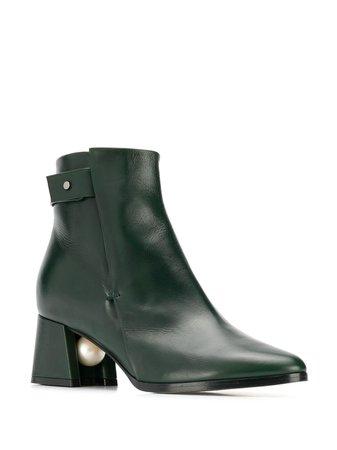 Nicholas Kirkwood Miri Ankle Boots - Farfetch