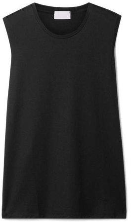 Handvaerk - Pima Cotton-jersey Tank - Black