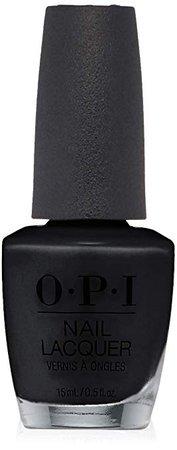 OPI Nail Lacquer, Black Onyx