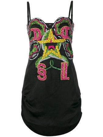 Diesel Embellished Mini Dress   Farfetch.com