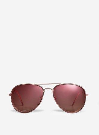 Rose Gold Aviator Sunglasses | Dorothy Perkins