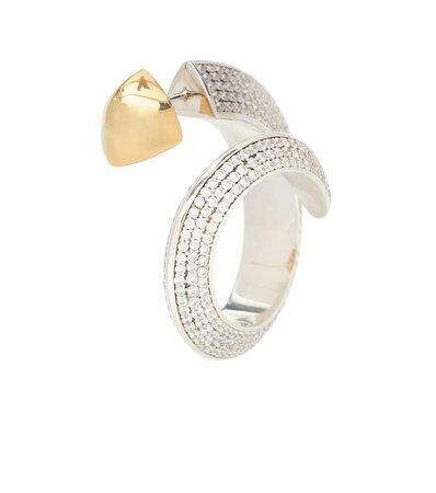 Embellished Hoop Earrings   Bottega Veneta - Mytheresa