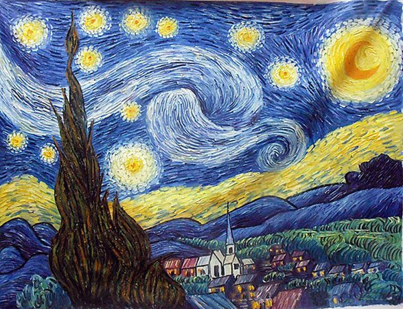 hand-painted-landscapes-van-gogh-starry-sky-children-room-bedroom-impressionism-oil-painting-lp00053.jpg (670×514)
