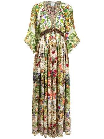 Camilla Verona Silk Maxi Dress - Farfetch