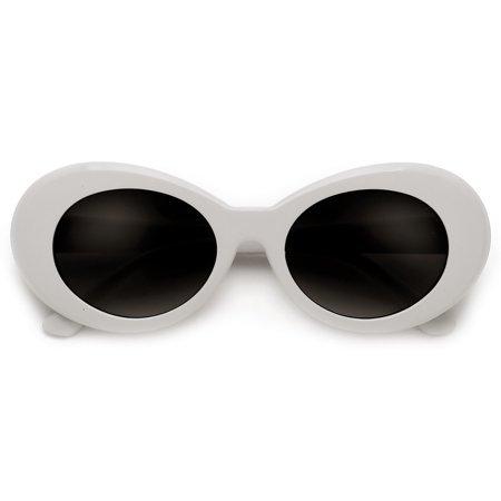 white oval sunglasses - Google Search