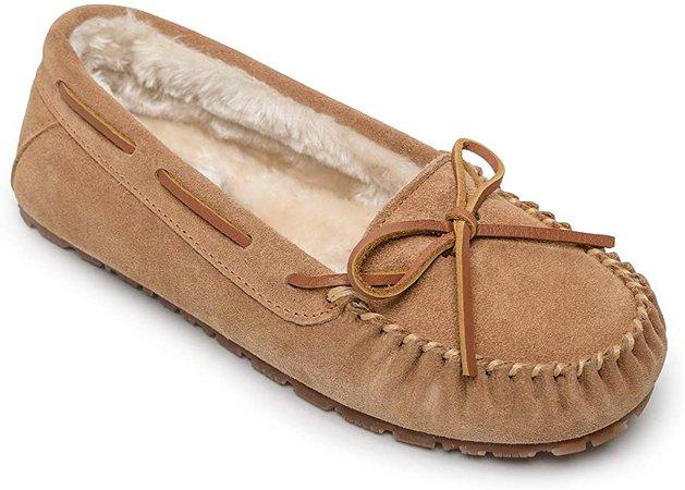 Amazon.com | Sperry Women's Junior Trapper Pile Lined Slipper, Cinnamon, 5 M US | Slippers
