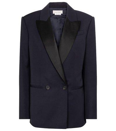 ALEXANDER MCQUEEN Wool blazer