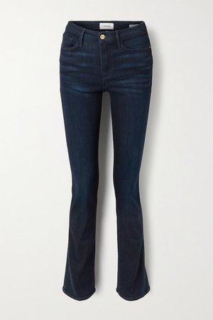 Le Mini Boot Mid-rise Jeans - Blue