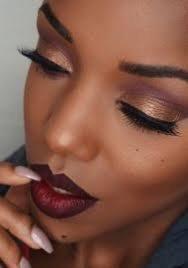 brown eyeshadow looks black girl - Google Search