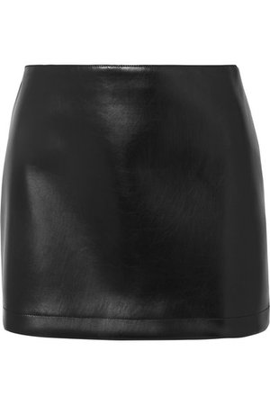 Philosophy di Lorenzo Serafini | Faux leather mini skirt | NET-A-PORTER.COM