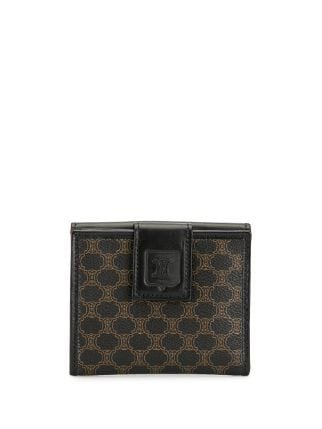 Céline Pre-Owned Macadam Pattern bi-fold Wallet - Farfetch