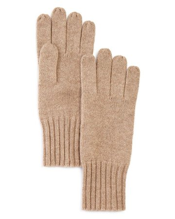 C by Bloomingdale's Cashmere Gloves - 100% Exclusive | Bloomingdale's