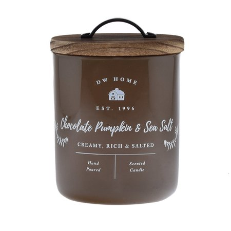 Chocolate Pumpkin & Sea Salt – DW Home Candles