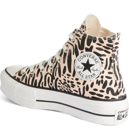Converse Chuck Taylor® All Star® Lift High Top Platform Sneaker (Women) | Nordstrom
