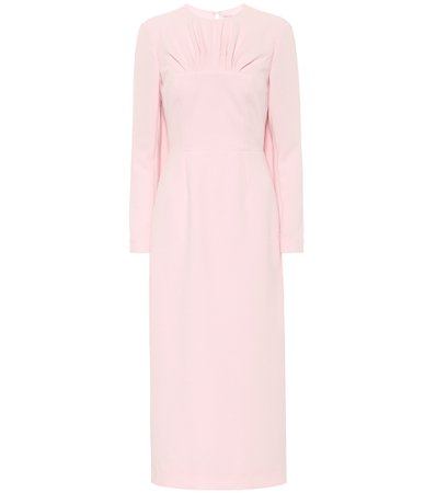 Naiya Crêpe Midi Dress - Emilia Wickstead | Mytheresa