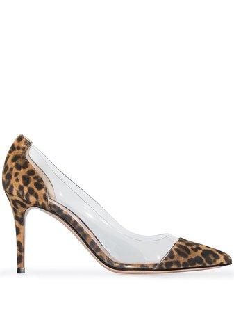 Gianvito Rossi 85mm leopard-print Pumps - Farfetch