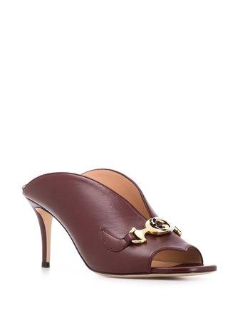 Gucci Zumi Slide Sandals - Farfetch