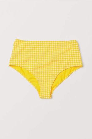 Bikini Bottoms High Waist - Yellow