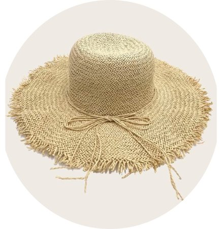 Dark Straw Hat
