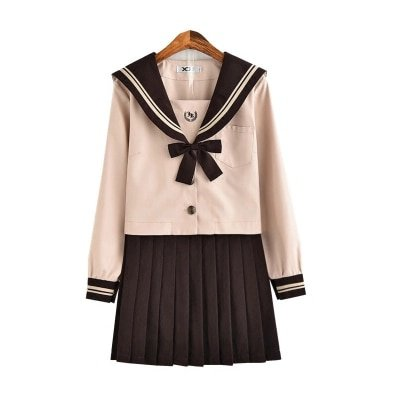 2019 summer japanese korean school uniforms girl cute sailor tops skirt full set cosplay cotton jk costume-in School Uniforms from Novelty & Special Use on Aliexpress.com | Alibaba Group