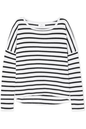 Allude | Striped wool and cashmere-blend sweater | NET-A-PORTER.COM