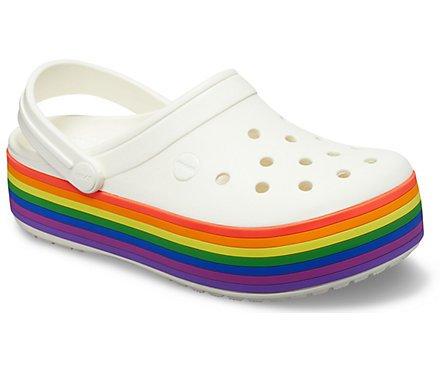 Crocband™ Platform Rainbow Clog - Crocs