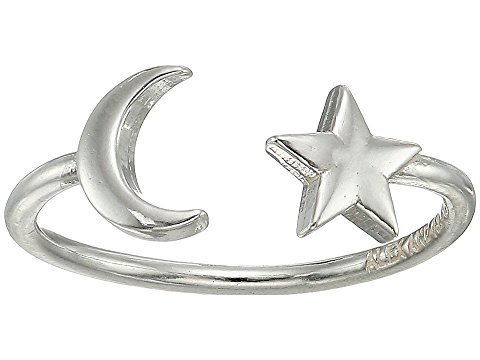 Alex and Ani Moon and Star Adjustable Ring at Zappos.com