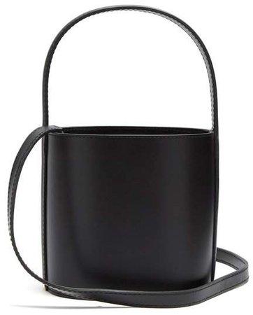 Bissett Leather Bucket Bag - Womens - Black