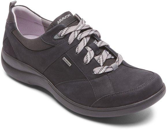 Waterproof Leather Sneaker Women)