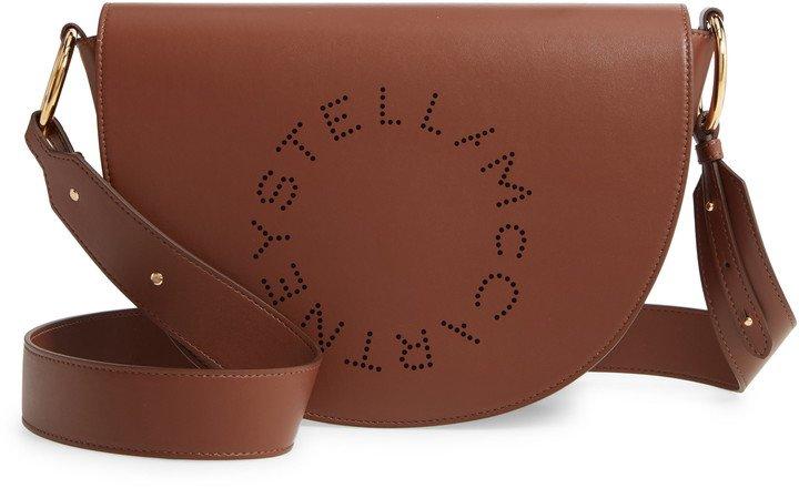 Flap Faux Leather Shoulder Bag