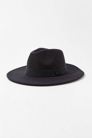 Brushed Fedora Hat   Forever 21