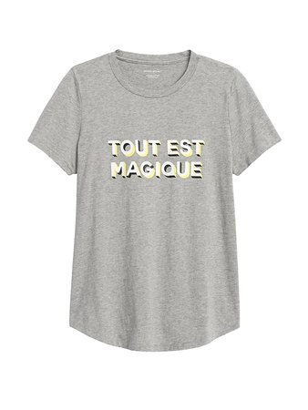 SUPIMA® Cotton Graphic T-Shirt | Banana Republic