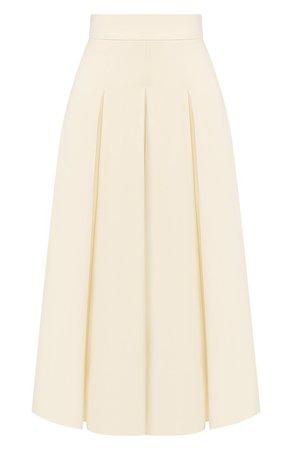 Женская белая шерстяная юбка JM STUDIO — купить за 27970 руб. в интернет-магазине ЦУМ, арт. JMSS2023