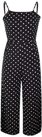 Amazon.com: ZhixiaYS Womens Polka Dot Jumpsuit Wide Leg Pants Long Jumpsuit Backless Strappy Playsuit: Clothing