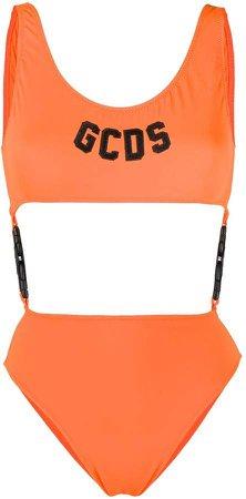 Side-Clip Cutout Swimsuit