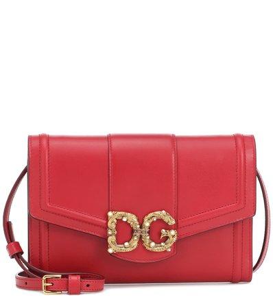 Clutch Dg Amore In Pelle   Dolce & Gabbana - Mytheresa