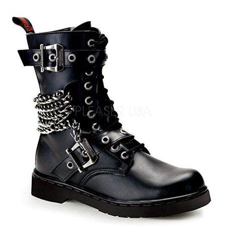 Demonia Unisex Defiant 204 Combat Boots