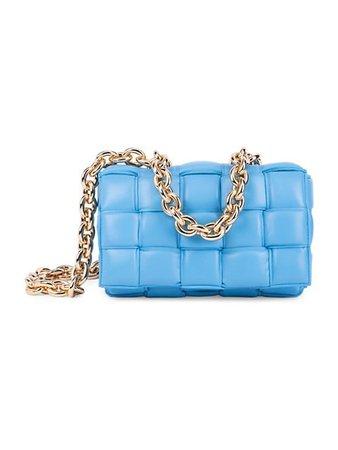 Bottega Veneta The Chain Padded Cassette Leather Shoulder Bag | SaksFifthAvenue